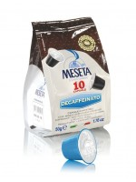 Кофе Meseta Decaffeinated (совместимы с Nespresso), в капсулах, 10 капсул по 5 гр